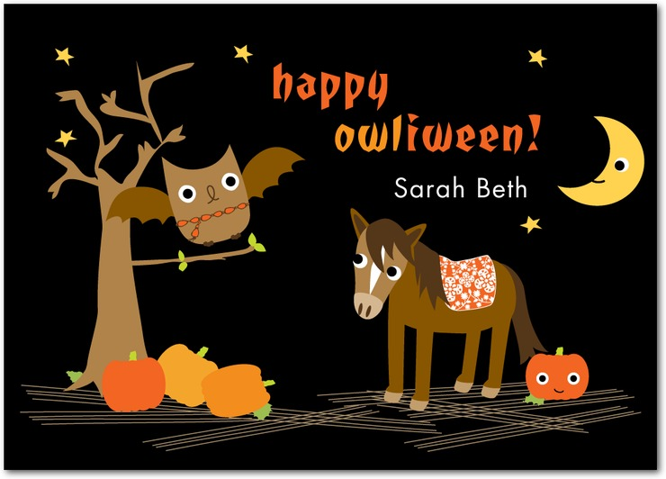 22 most beautiful happy halloween greeting card images and photos happy owliween greeting ecard m4hsunfo