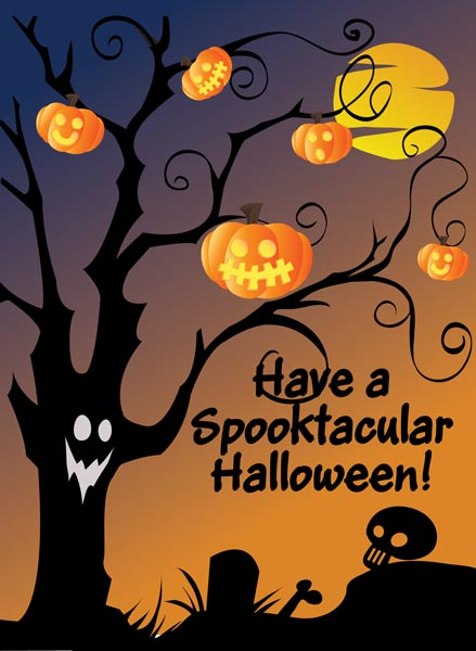 22 most beautiful happy halloween greeting card images and photos have a spooktacular halloween greeting card m4hsunfo