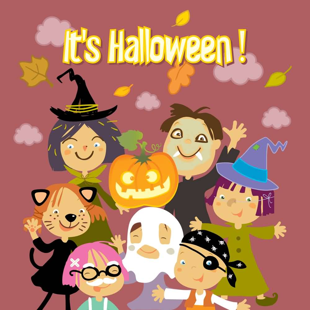 Itu0027s Halloween 2016 Greeting Card