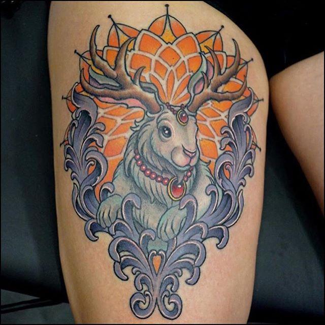 48 unique jackalope tattoos