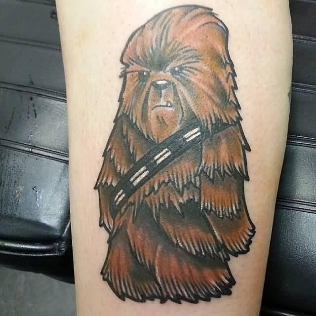 40 star wars chewbacca tattoos ideas. Black Bedroom Furniture Sets. Home Design Ideas