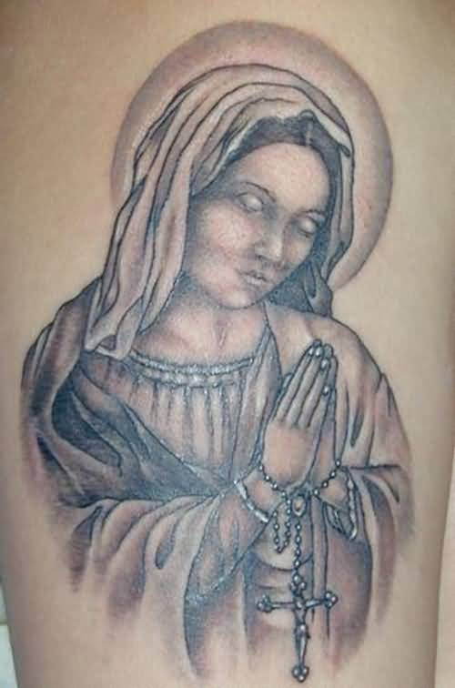 47+ Religious Virgin Mary Tattoos