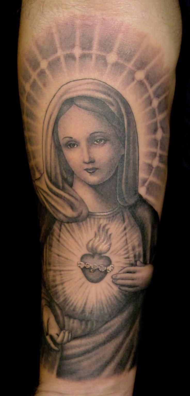 47 Religious Virgin Mary Tattoos