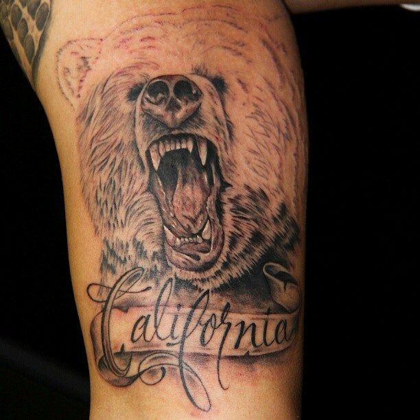34 awesome california tattoos. Black Bedroom Furniture Sets. Home Design Ideas