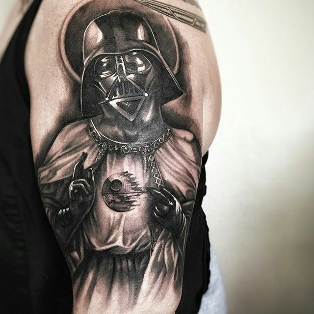 13 Best Darth Vader Half Sleeve Tattoos
