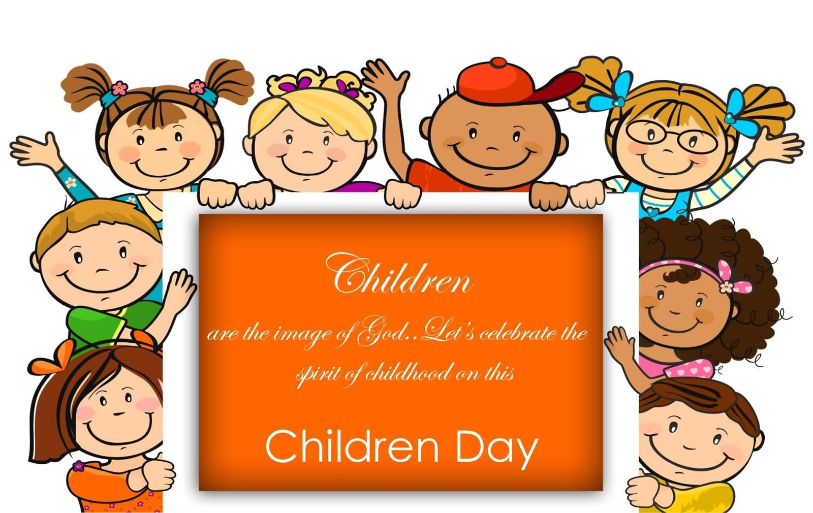 Children Are The Image Of God Let's Celebrate The Spirit Of ...