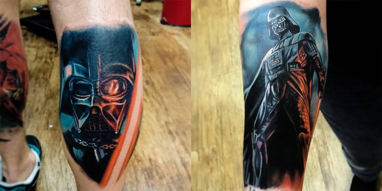 19  amazing darth vader tattoo designs