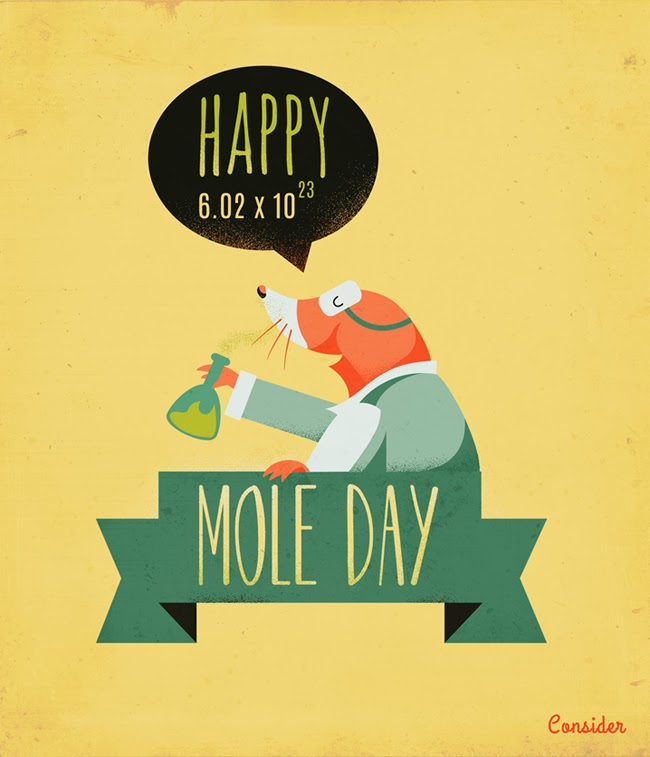 National Pi Day Quotes: Happy 6.02 X 10 23 Mole Day