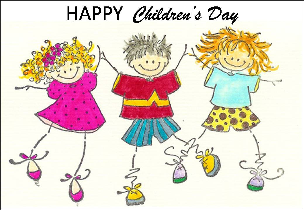 happy childrens day 2016 cartoon picture - Cartoon Image Of Children