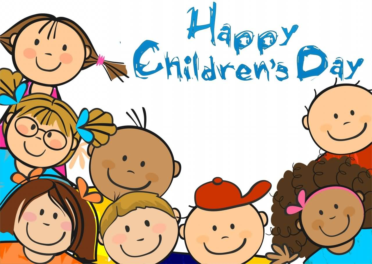 happy childrens day clipart