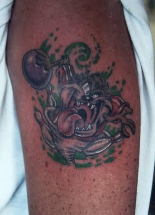 24+ Best Taz Dog Tattoos