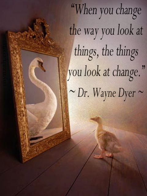 Image result for images change the way you look at things