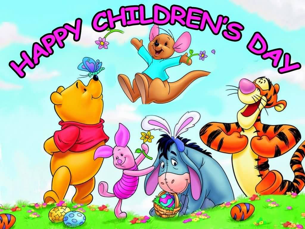 Quotes About Friendship Winnie The Pooh 55 Very Beautiful Children's Day Wish Images And Pictures