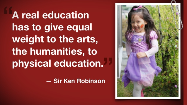 A Real Education Has To Give Equal Weight The Arts Humanities Physical
