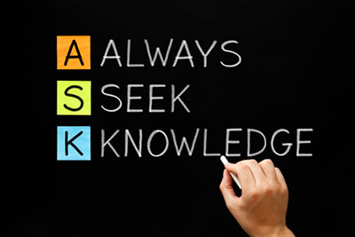 Knowledge Is Of Two Kinds We Know A Subject Ourselves Or We Know