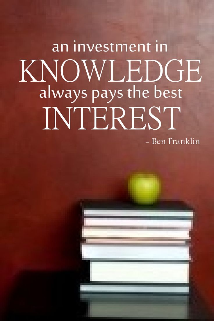 The Best Of The Worst: An Investment In Knowledge Pays The Best Interest
