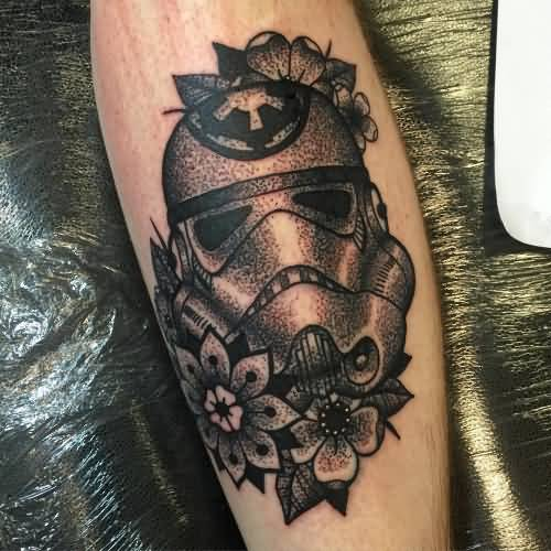Traditional Black And Grey Tattoo: 51+ Amazing Stromtrooper Tattoos