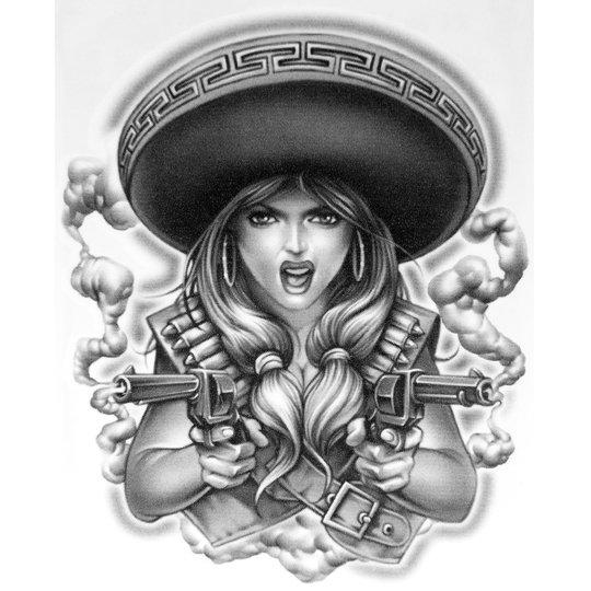 11+ Mexican Charra Tattoo Designs