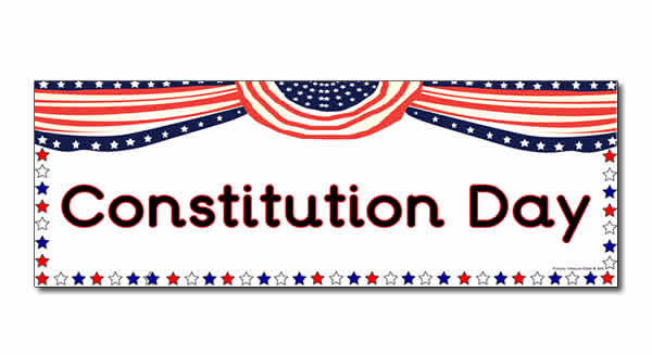 Constitution Day Cake Coloring Page Picture