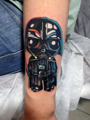 29 Darth Vader Helmet Tattoos And Designs