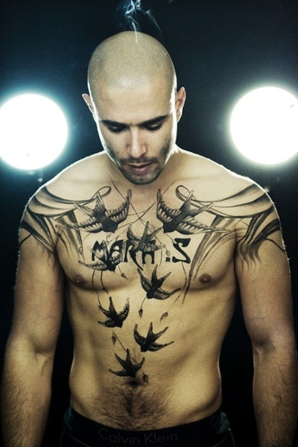 Awesome Chest Tattoo Ideas For Men Stylendesigns
