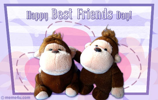 45 Beautiful Best Friends Day Wish Pictures To Share With ...