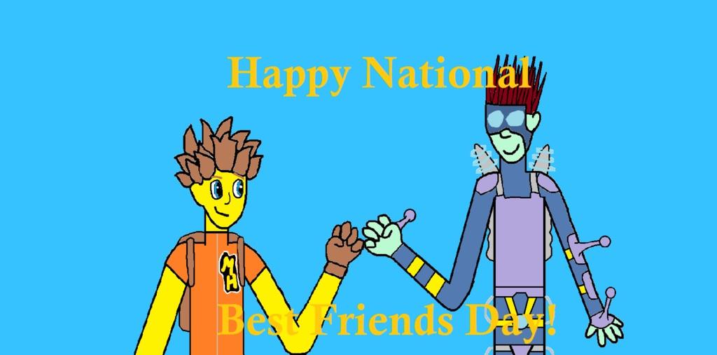 Best Friends Day - Askideas.com