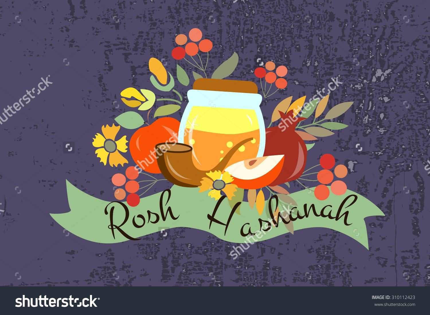 25 wonderful rosh hashanah greeting pictures to share with your happy rosh hashanah elements clipart kristyandbryce Choice Image