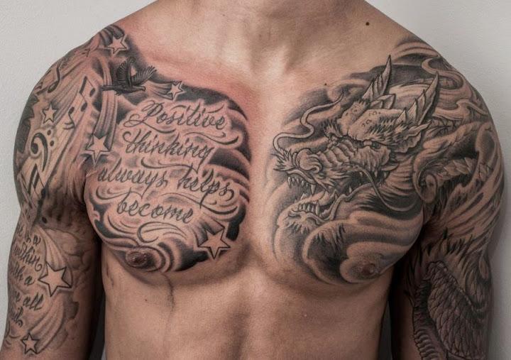 25 Best Chest Tattoos For Men