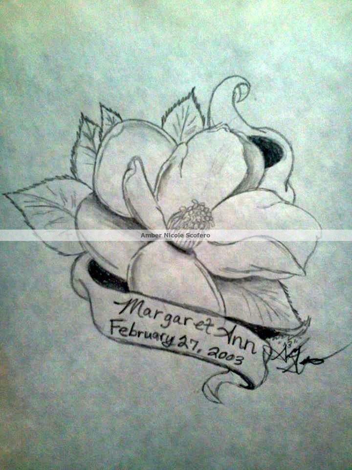 13 Awesome Magnolia Tattoo Designs