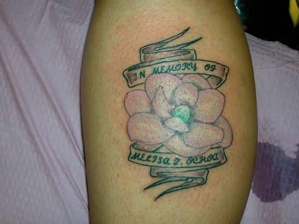 magnolia flower tattoo men - photo #28
