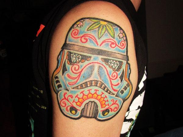 32 Best Stormtrooper Helmet Tattoos