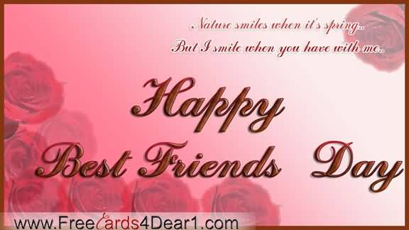 45 Beautiful Best Friends Day Wish Pictures To Share With Your Friends