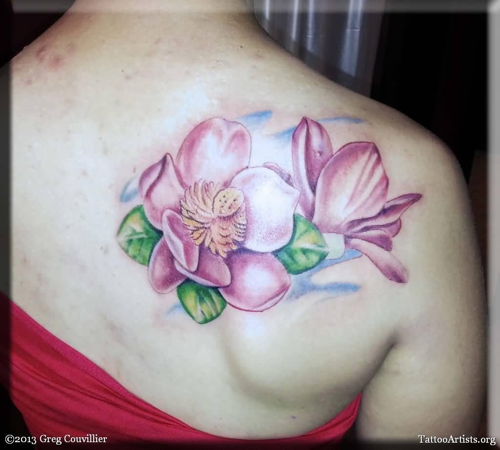 magnolia flower tattoo men - photo #42