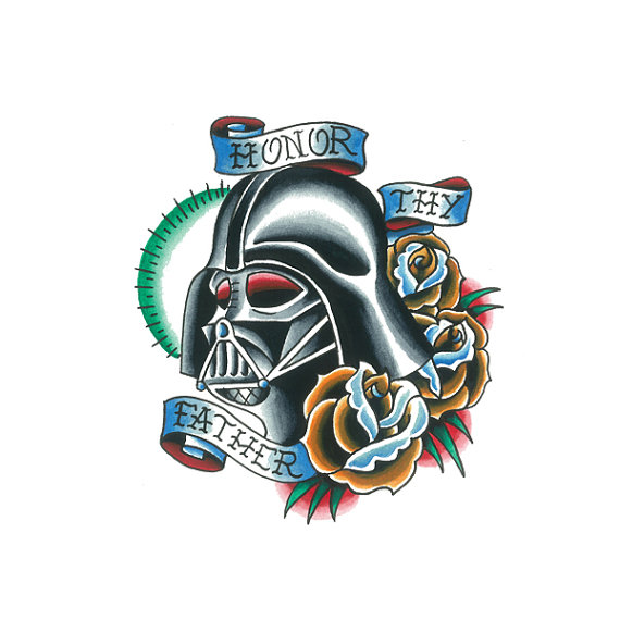 29 darth vader helmet tattoos and designs