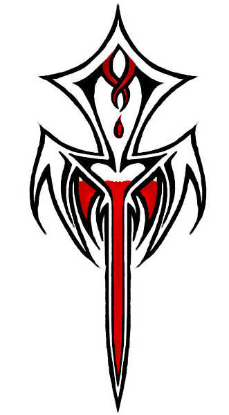 d56f8d42a9b26 Vampire Ankh Tattoo Design by 13star