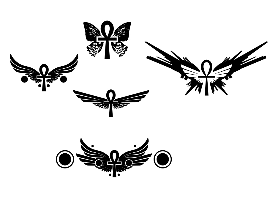 Winged Ankh Tattoo Designs By Violhaine