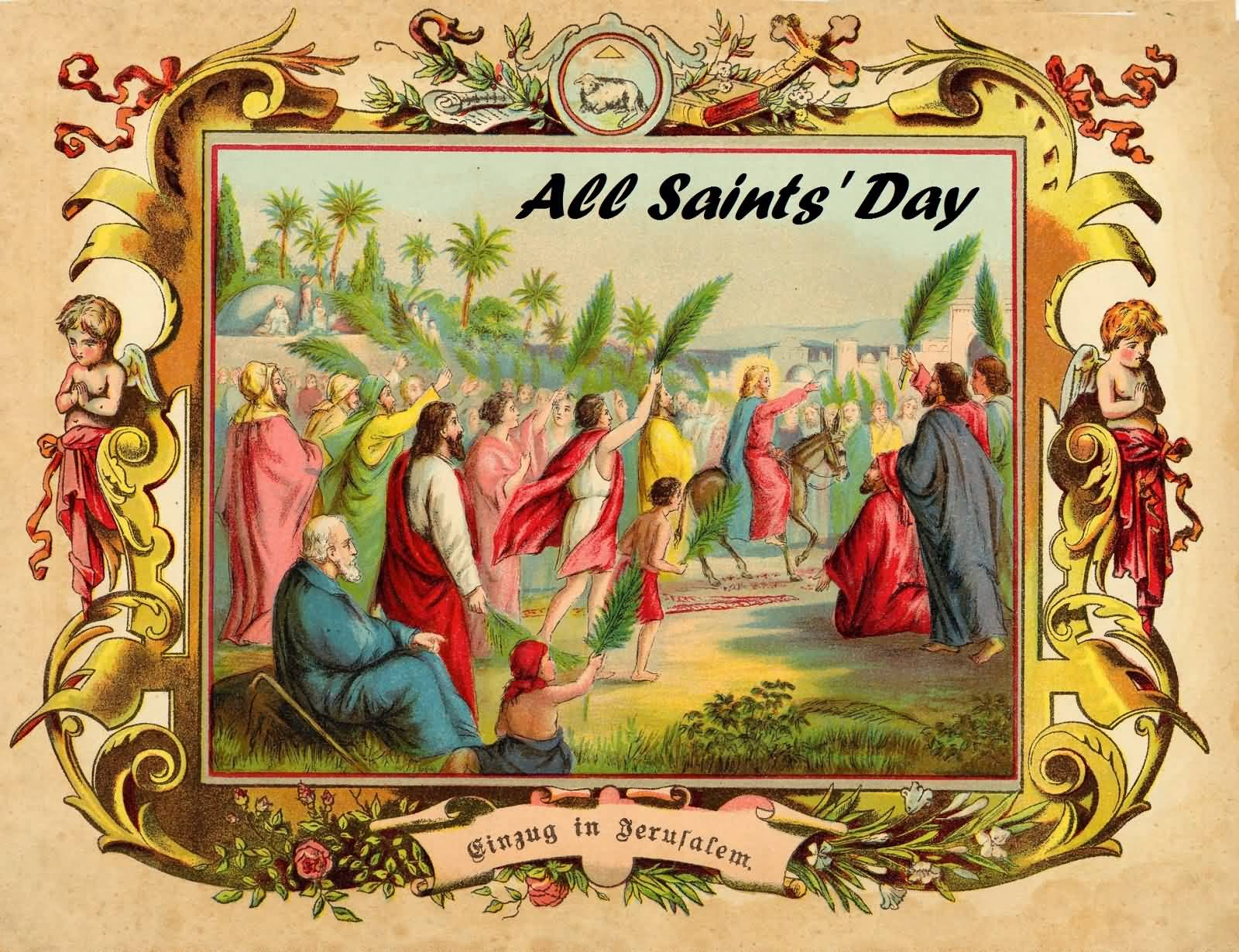 all saints day All saints' day is celebrated by catholic christians on november 1 other christians celebrate it as well (may not be on the same day) it is a mandatory catholic.