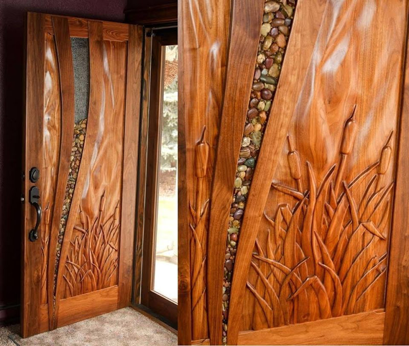 door design double entry  | 350 x 467