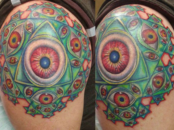 34 incredible alex grey tattoos for Crystal eye tattoos