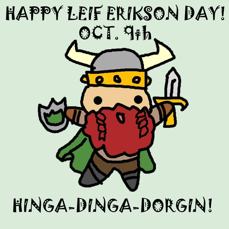 35 Beautiful Wish Pictures Of Leif Erikson Day 2016