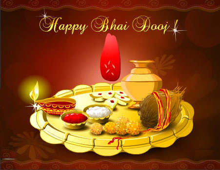 50 best bhai dooj greeting pictures happy bhai dooj beautiful thali picture m4hsunfo