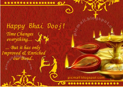 50 happy bhai dooj greeting pictures happy bhai dooj time changes everything but it has only improved enriched our bond m4hsunfo