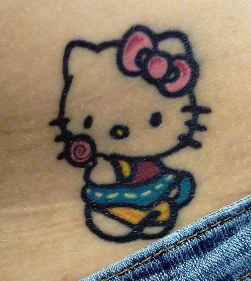 39+ Wonderful Hello Kitty Tattoos