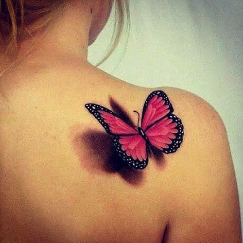 butterfly tattoos. Black Bedroom Furniture Sets. Home Design Ideas