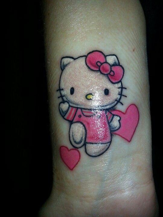 Hello Kitty Winking