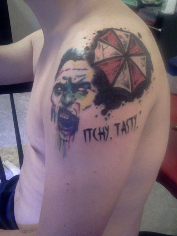 26+ Resident Evil Umbrella Tattoos