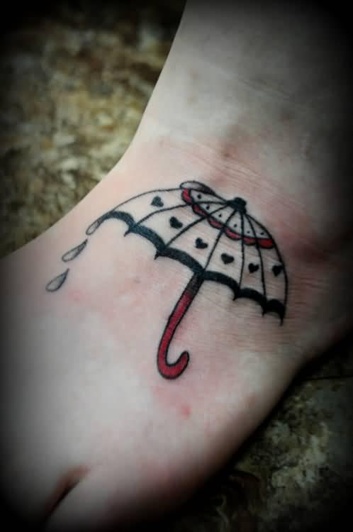Rain Storm Tattoo