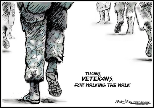 Thanks Veterans For Walking The Walk Happy Veterans Day 2016 55 best photos and pictures of veterans day 2016,Happy Veterans Day Meme