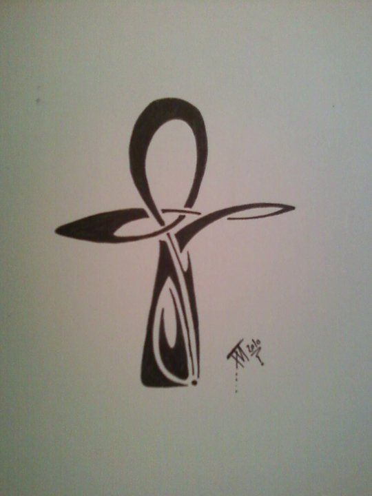 990f48002c48a 44+ Wonderful Ankh Tattoos Designs